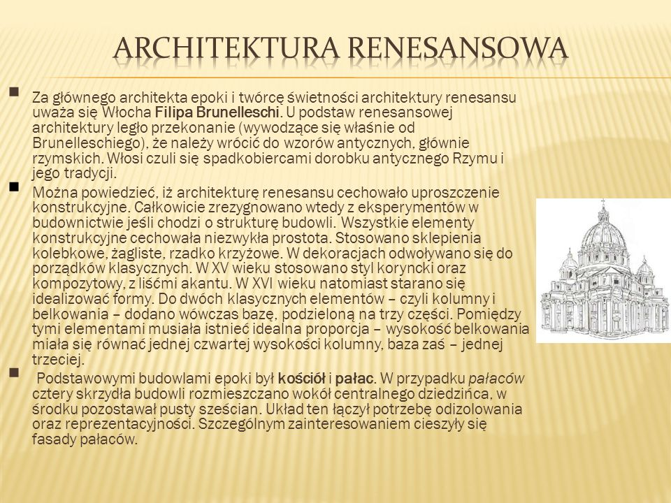 Architektura renesansowa