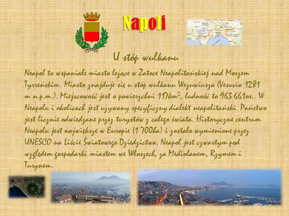 Napoli U stóp wulkanu.