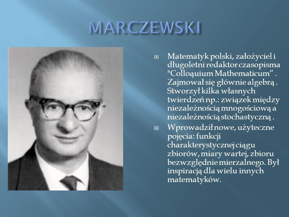 MARCZEWSKI