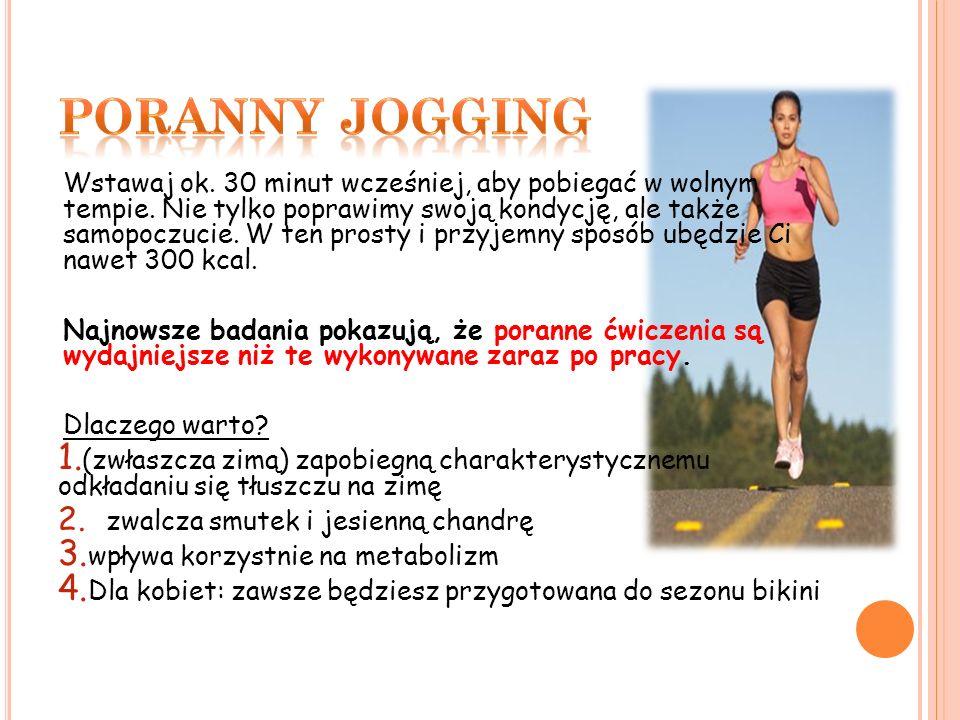 Poranny jogging