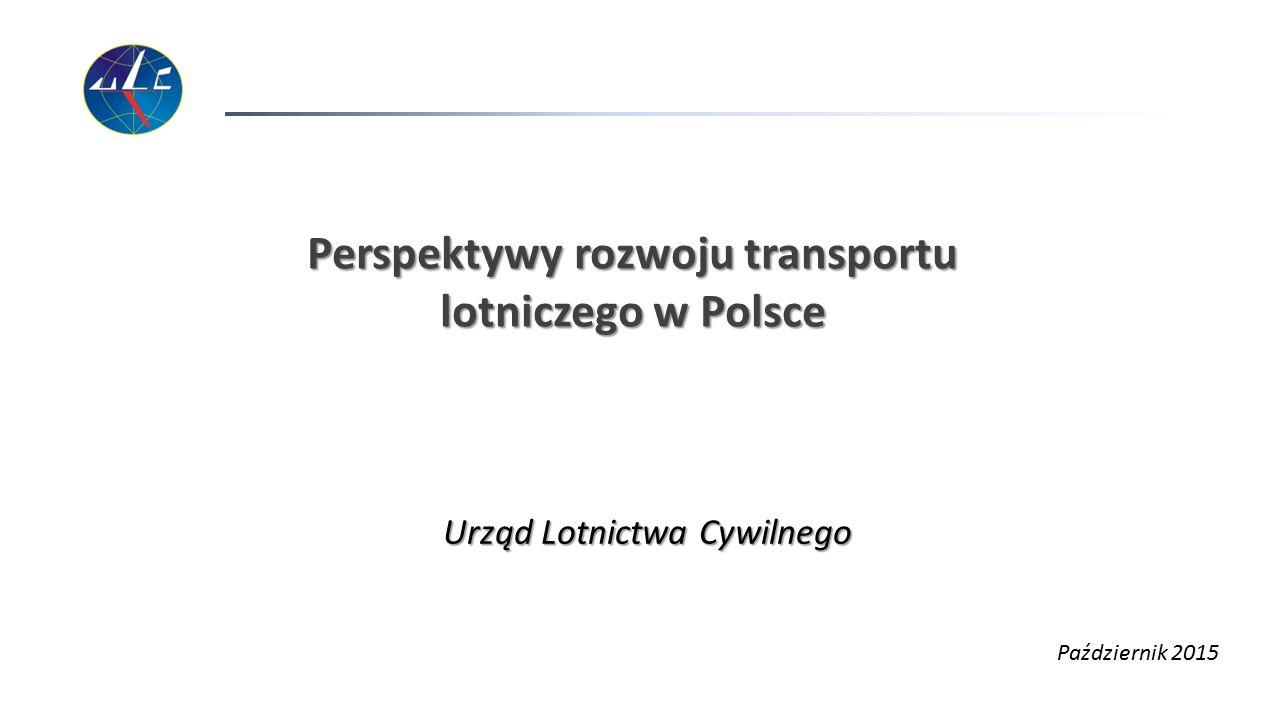 Perspektywy rozwoju transportu lotniczego w Polsce