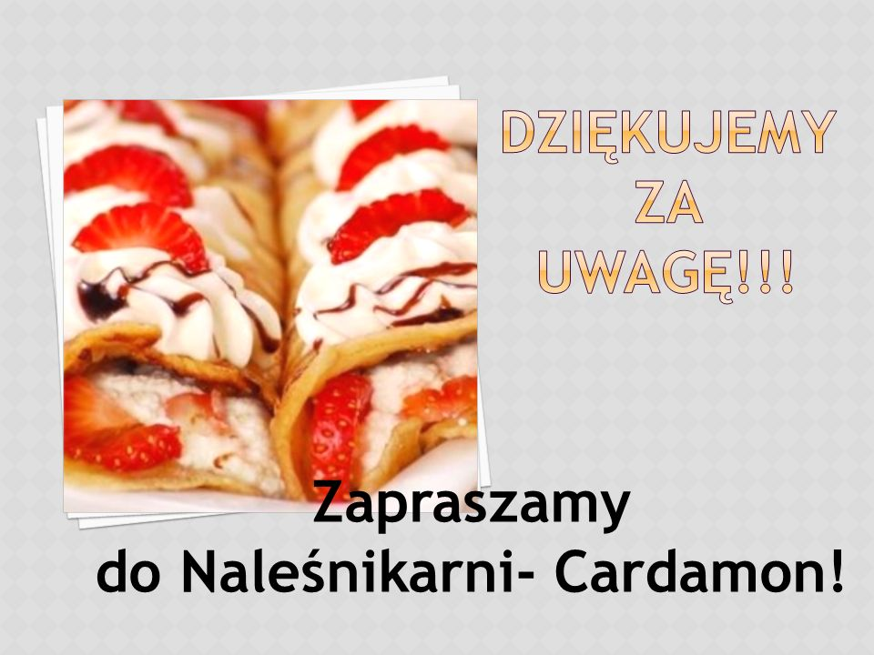 do Naleśnikarni- Cardamon!