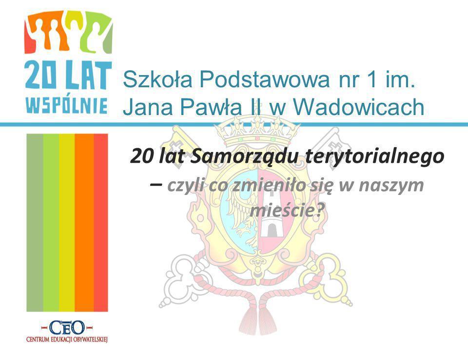 Szkoła Podstawowa nr 1 im. Jana Pawła II w Wadowicach