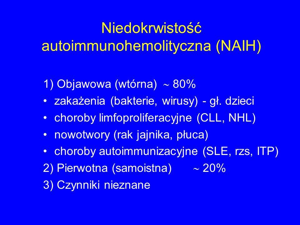 Niedokrwistość autoimmunohemolityczna (NAIH)
