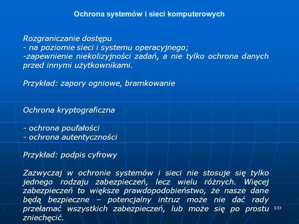 Ochrona systemów i sieci komputerowych