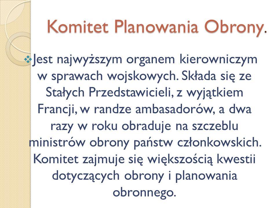 Komitet Planowania Obrony.