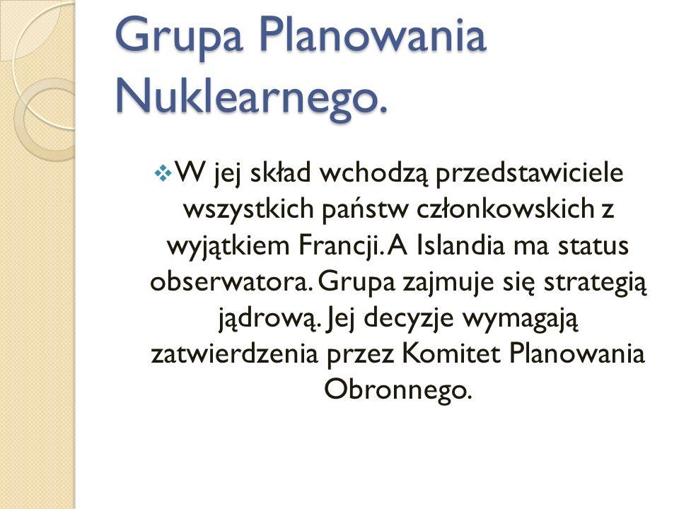 Grupa Planowania Nuklearnego.