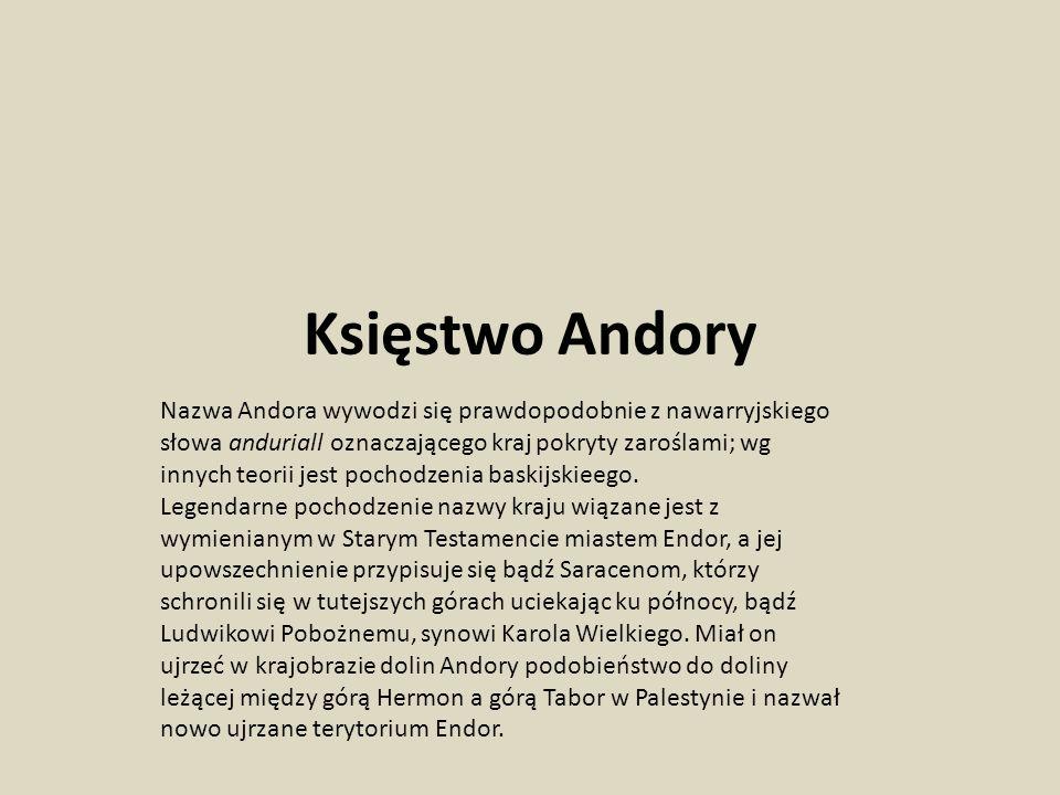 Księstwo Andory
