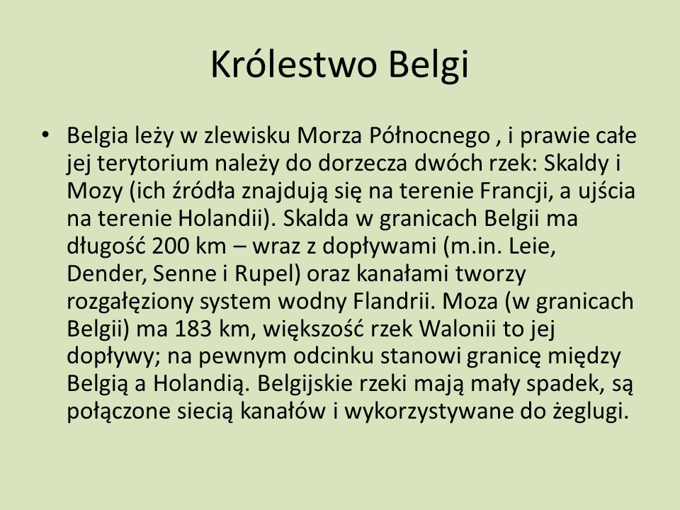 Królestwo Belgi
