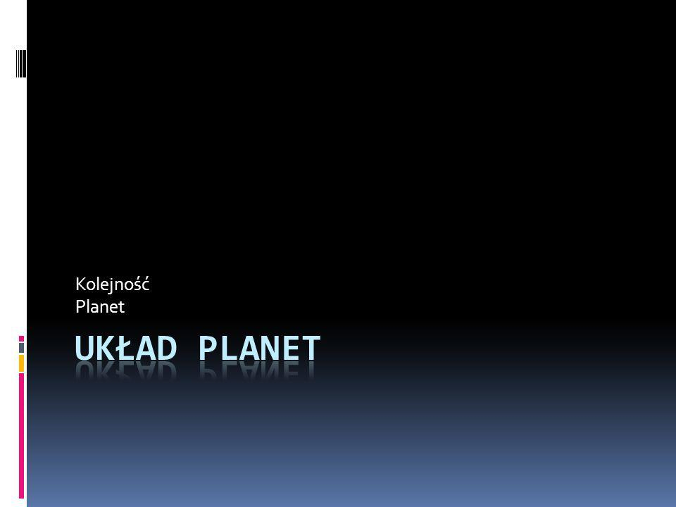Kolejność Planet Układ planet