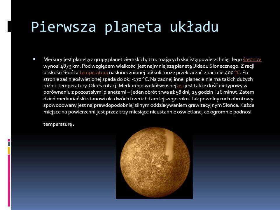 Pierwsza planeta układu