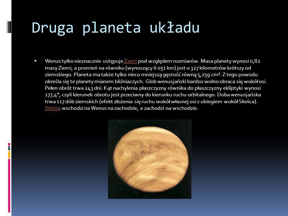 Druga planeta układu