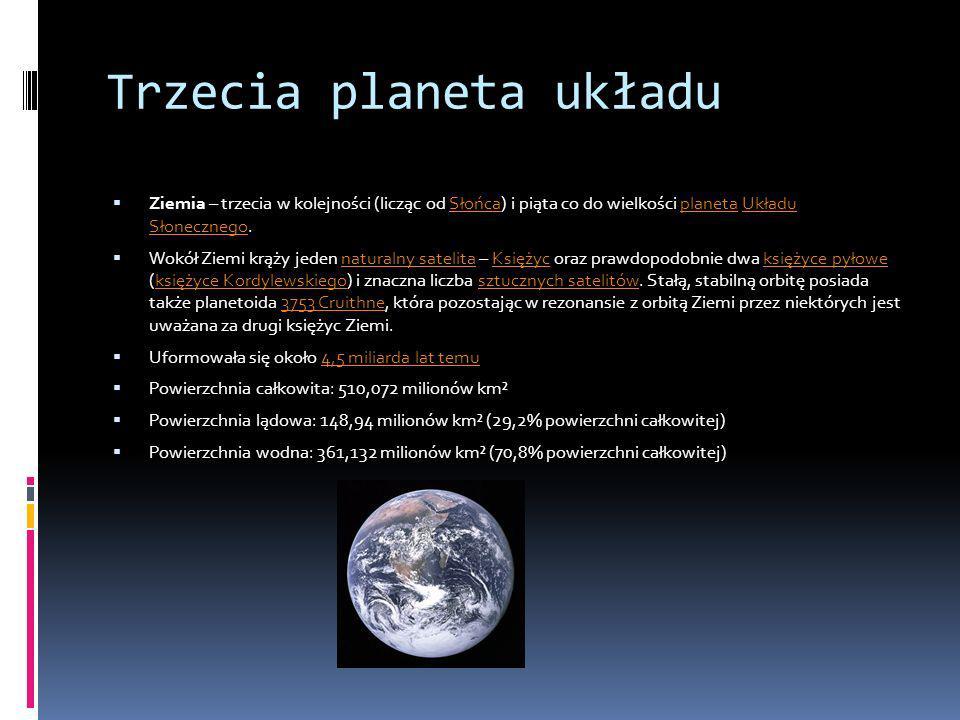 Trzecia planeta układu