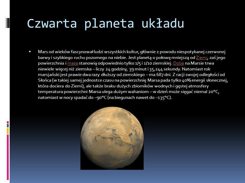 Czwarta planeta układu