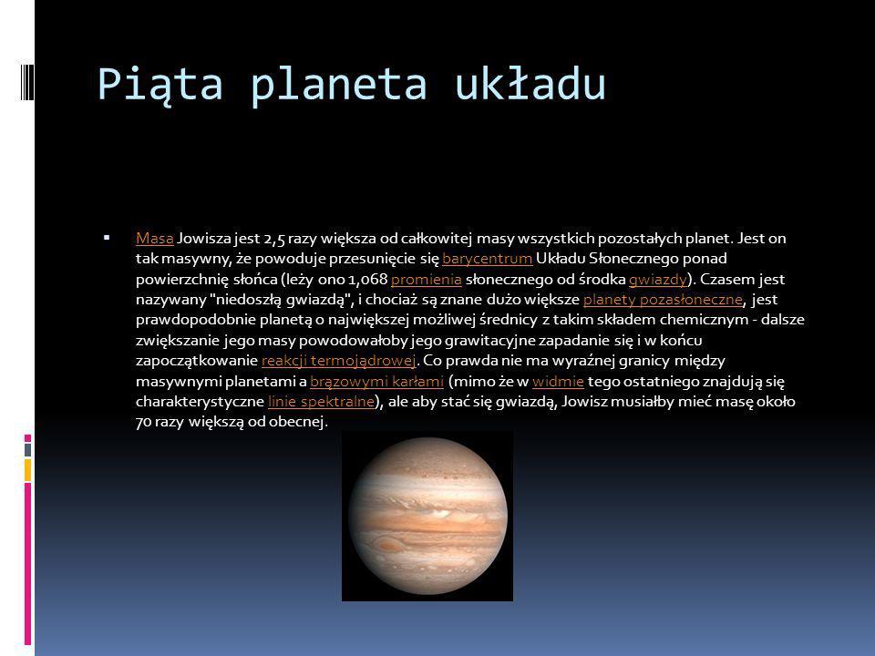 Piąta planeta układu