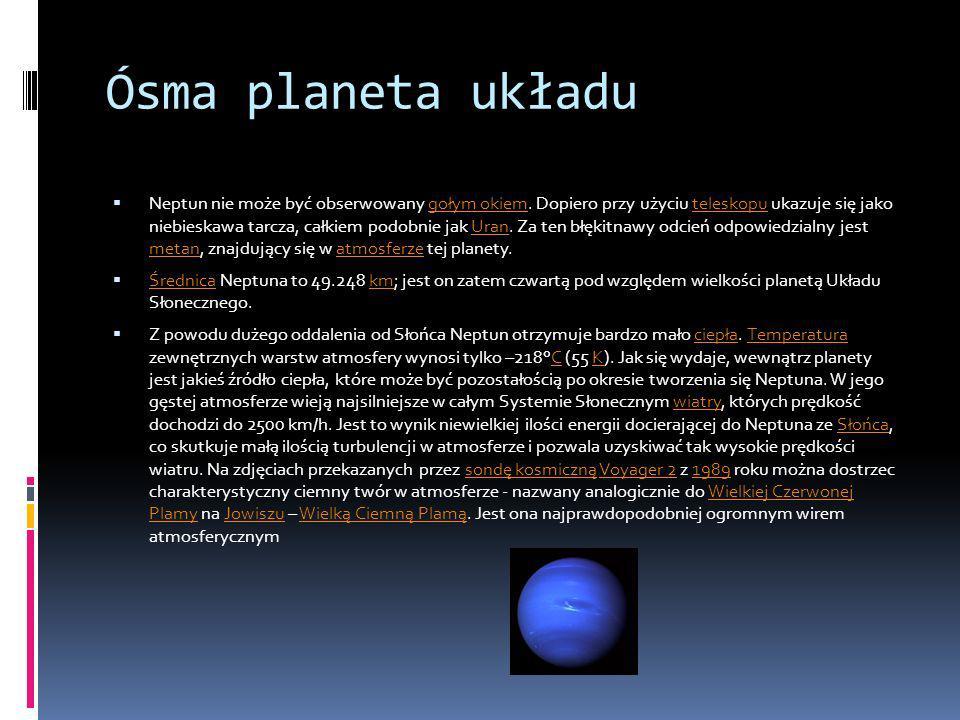 Ósma planeta układu