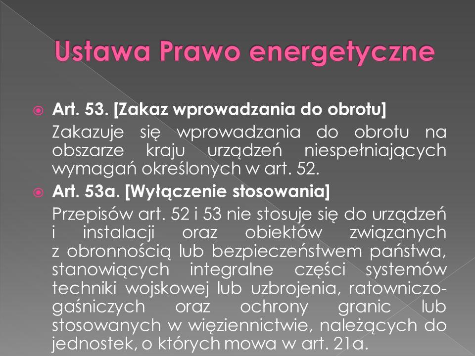 Ustawa Prawo energetyczne