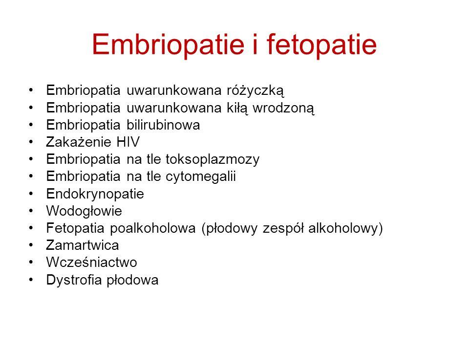 Embriopatie i fetopatie