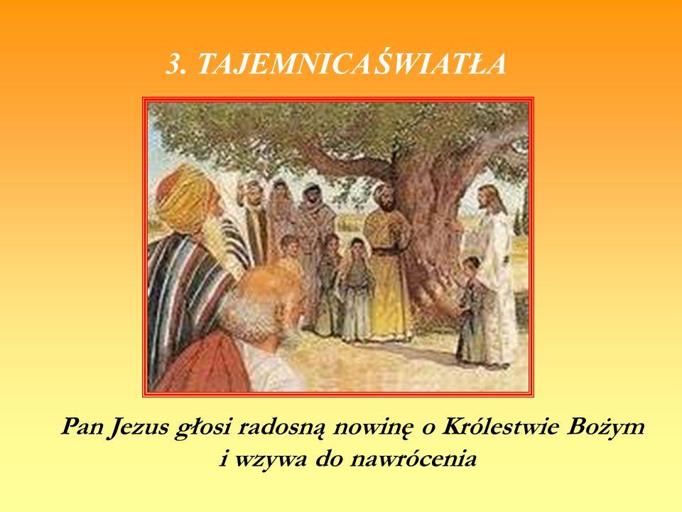 Pan Jezus głosi radosną nowinę o Królestwie Bożym
