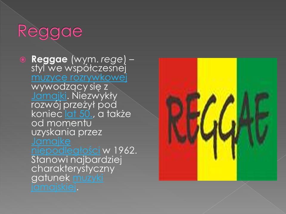 Reggae