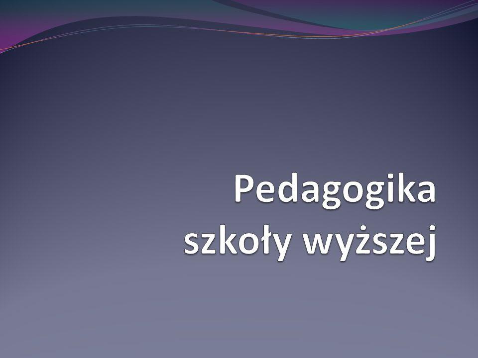 Pedagogika szkoły wyższej