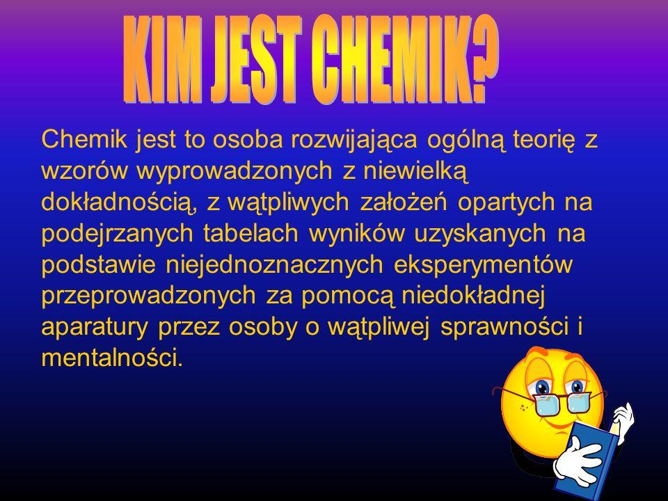 KIM JEST CHEMIK