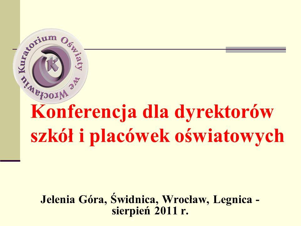 Konferencja dla dyrektorów szkół i placówek oświatowych