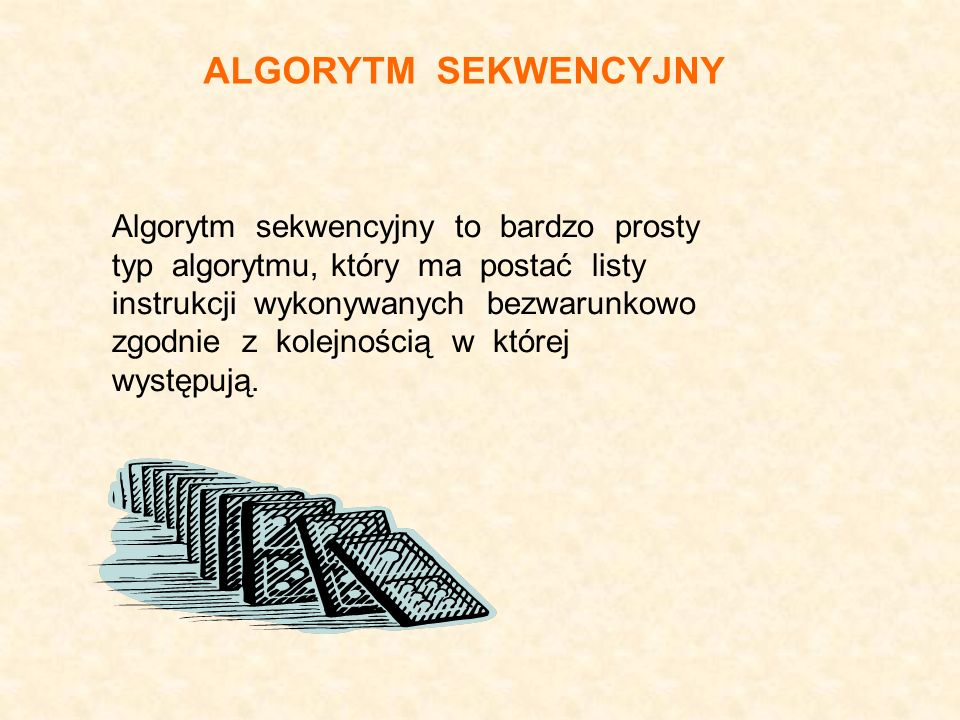 ALGORYTM SEKWENCYJNY
