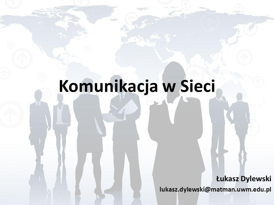 Łukasz Dylewski lukasz.dylewski@matman.uwm.edu.pl