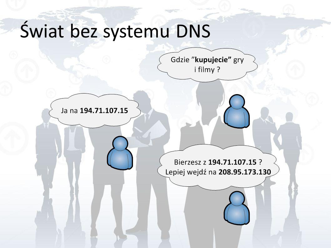 Świat bez systemu DNS