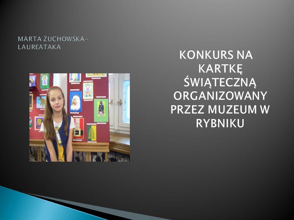 MARTA ŻUCHOWSKA- LAUREATAKA