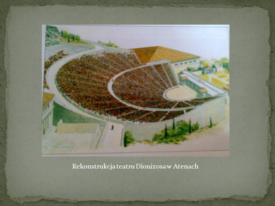 Rekonstrukcja teatru Dionizosa w Atenach