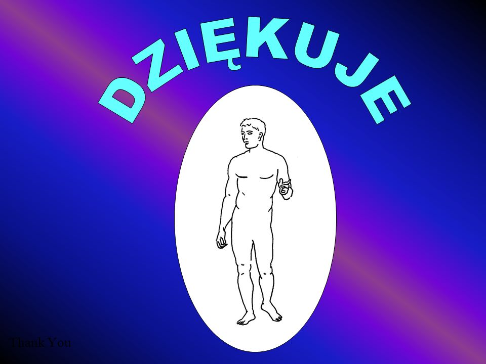 DZIĘKUJE Thank You