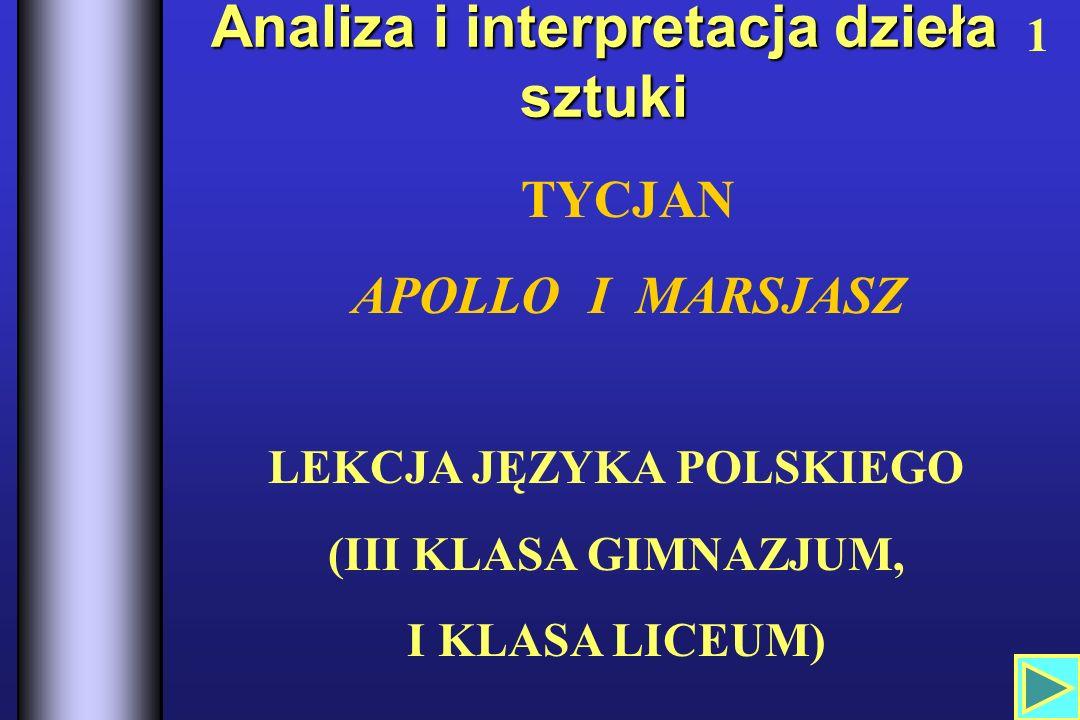 Analiza i interpretacja dzieła sztuki