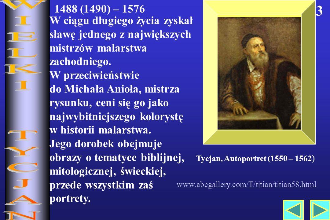 Tycjan, Autoportret (1550 – 1562)