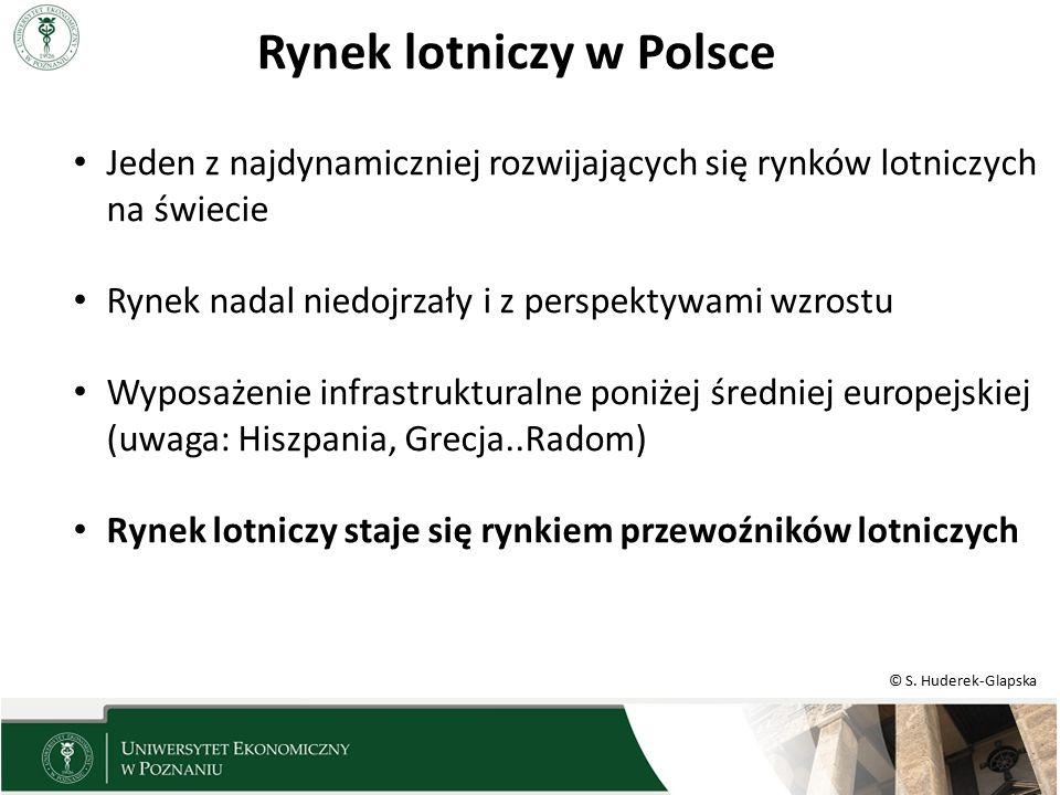 Rynek lotniczy w Polsce