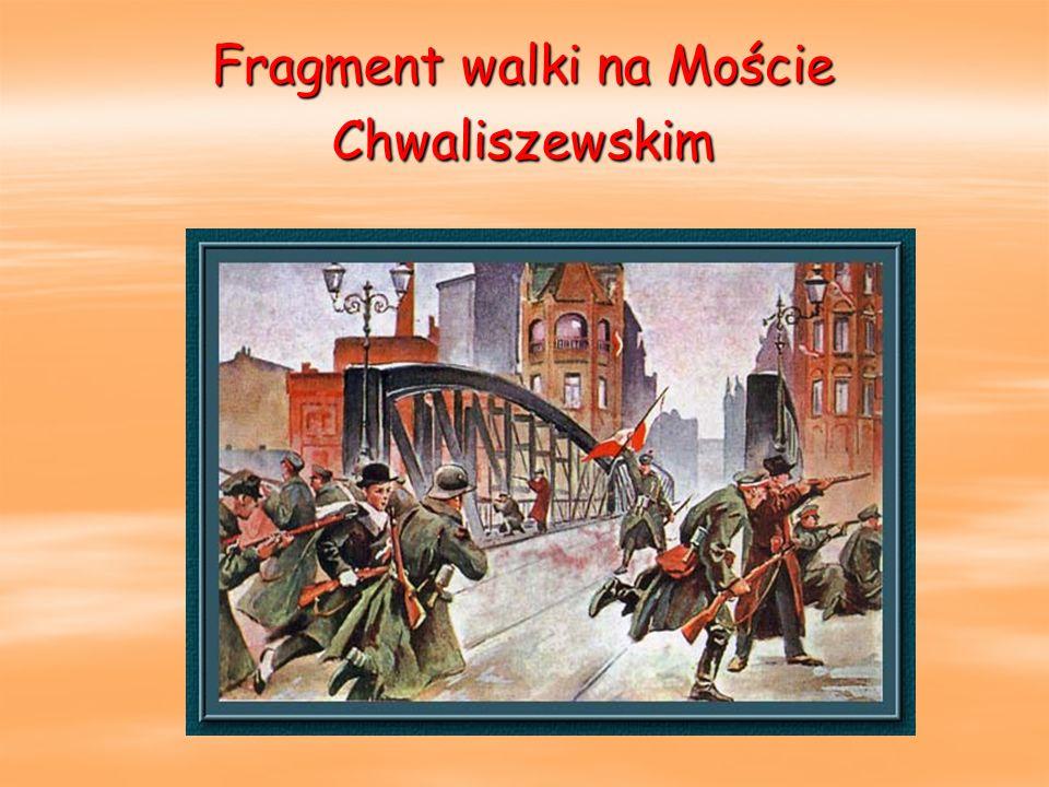 Fragment walki na Moście Chwaliszewskim
