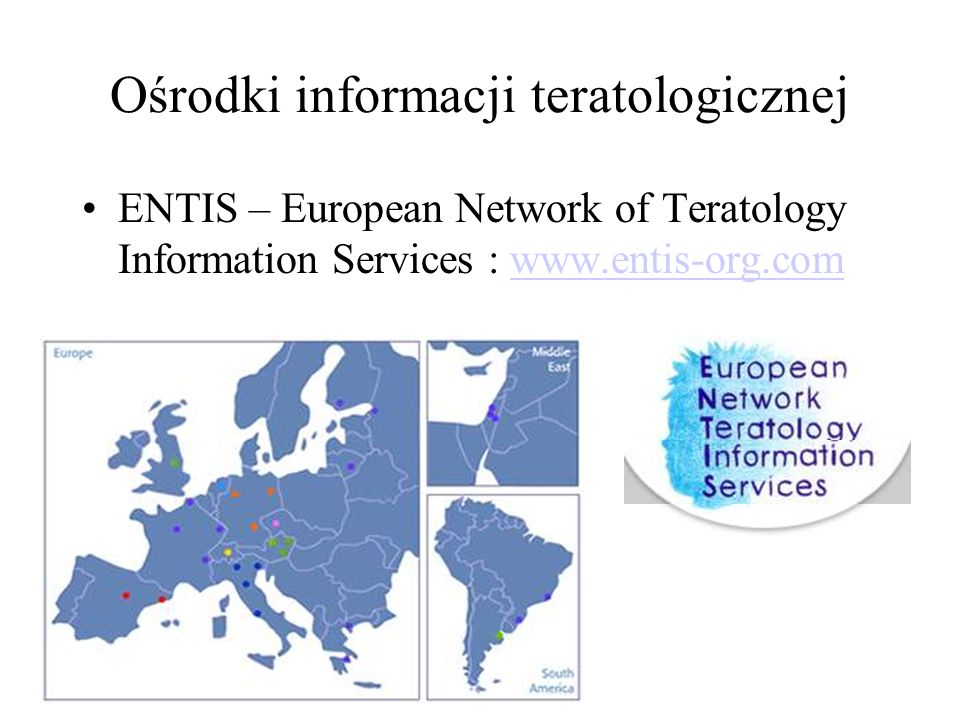Ośrodki informacji teratologicznej