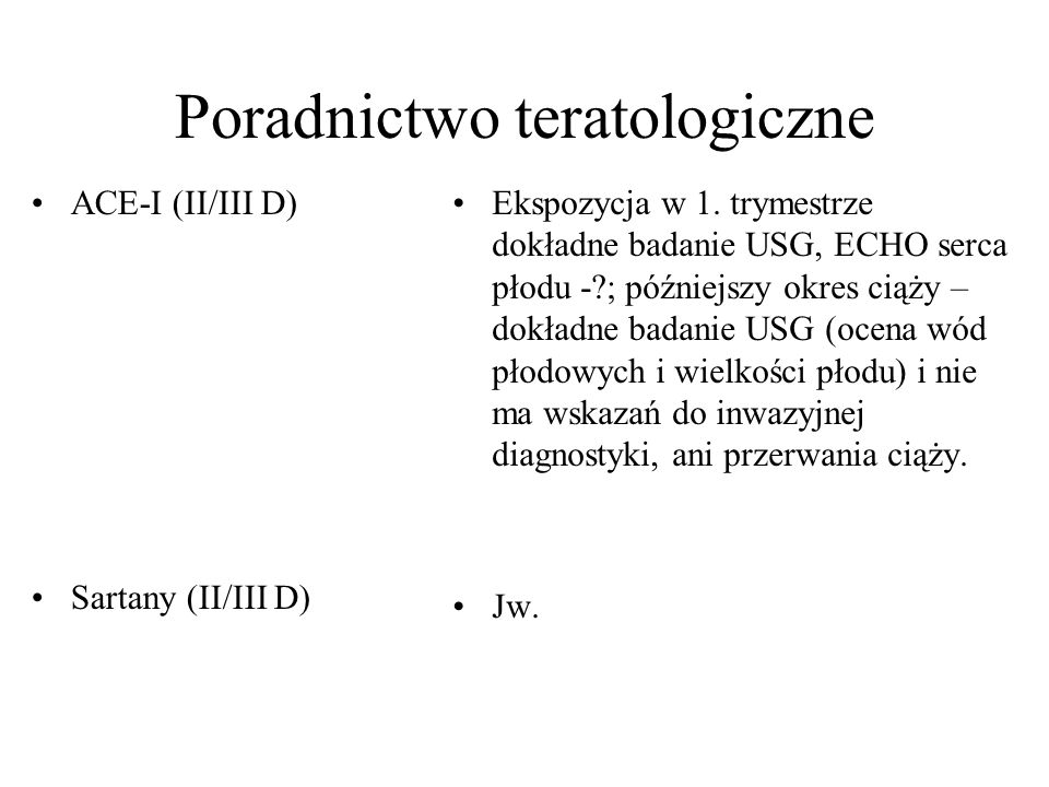 Poradnictwo teratologiczne