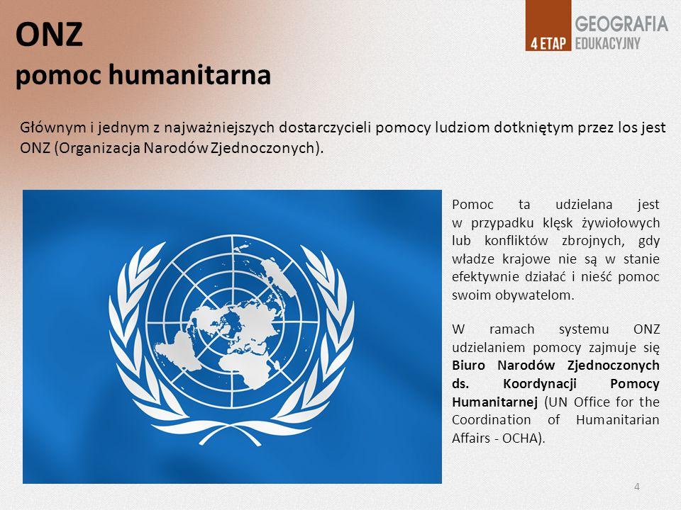ONZ pomoc humanitarna