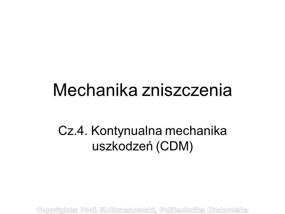Mechanika zniszczenia