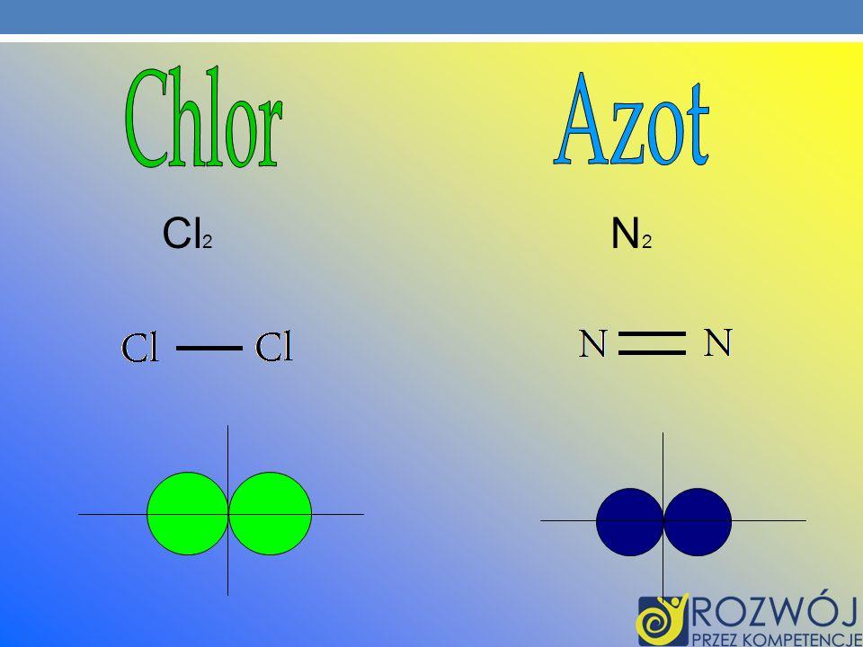 Chlor Azot Cl2 N2