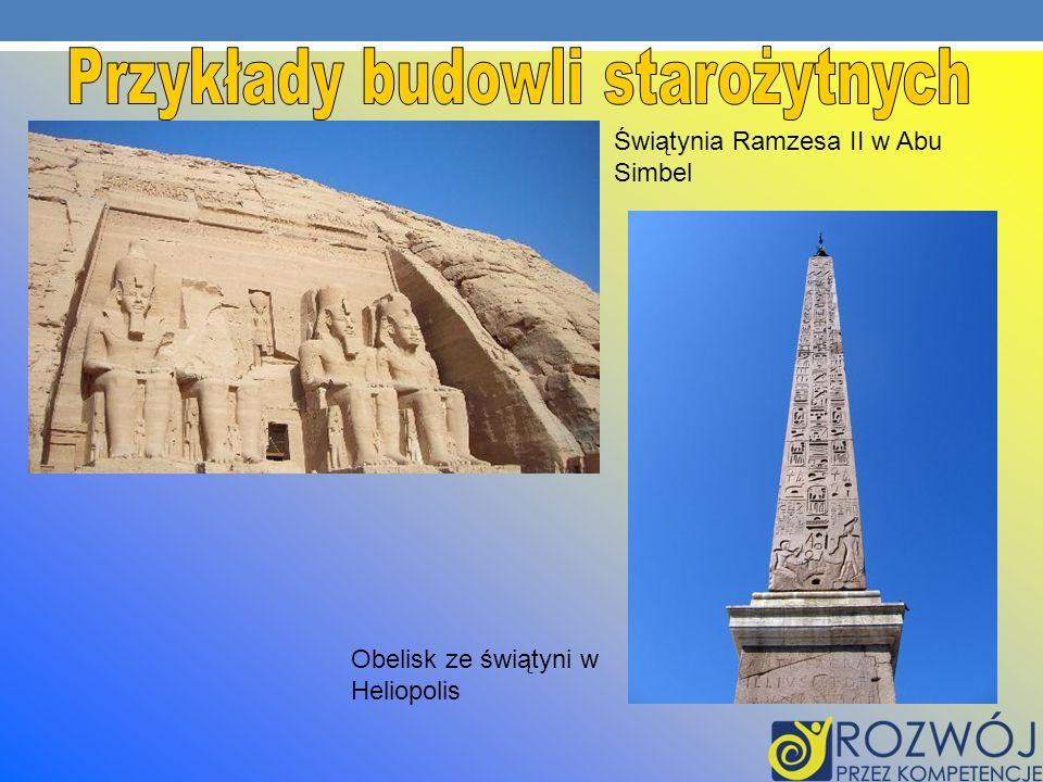 Przykłady budowli starożytnych