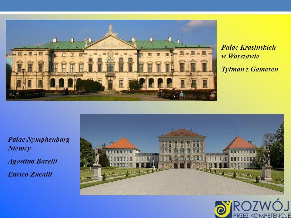 Pałac Krasinskich w Warszawie
