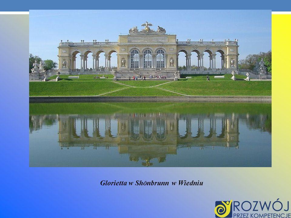 Glorietta w ShÖnbrunn w Wiedniu