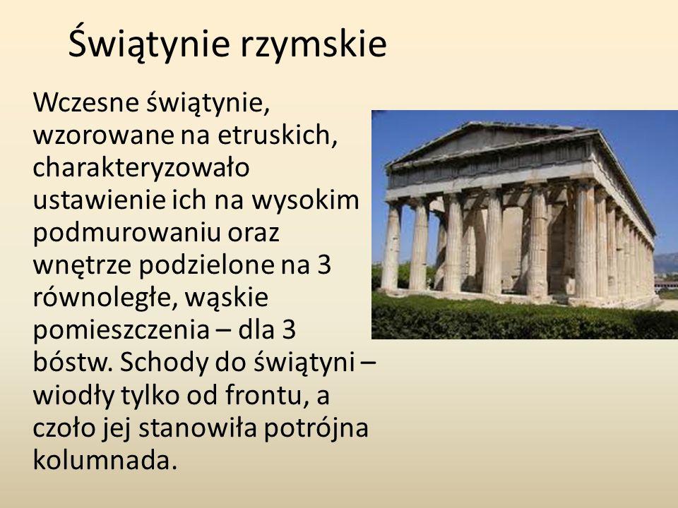 Świątynie rzymskie