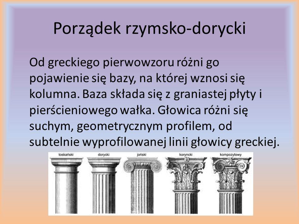 Porządek rzymsko-dorycki