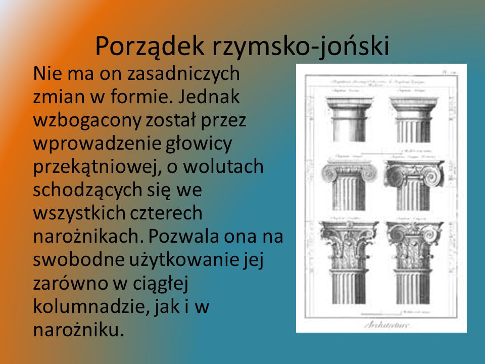 Porządek rzymsko-joński