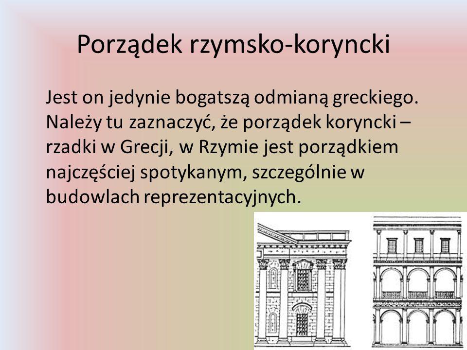 Porządek rzymsko-koryncki