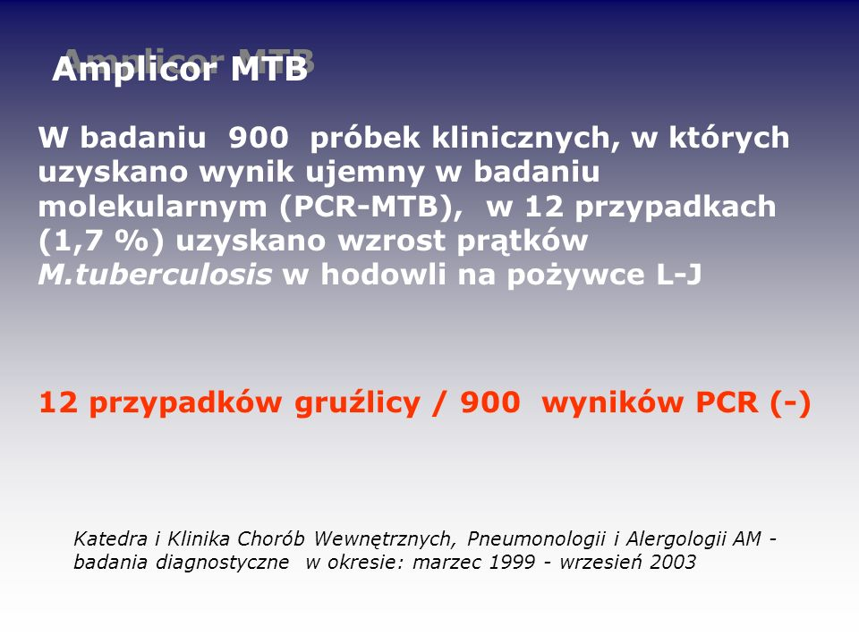 Amplicor MTB